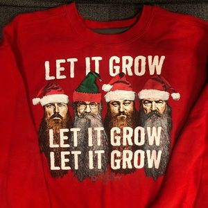 ** SOLD!! ** Duck Dynasty Red Christmas Sweatshirt